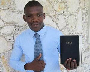 Canaan, Haiti Pastor