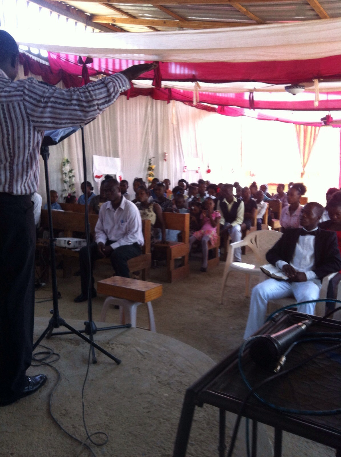 cap haitian church update