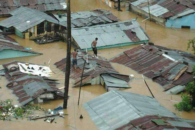 Hurricane Irma Hits Cap-Haitian Haiti