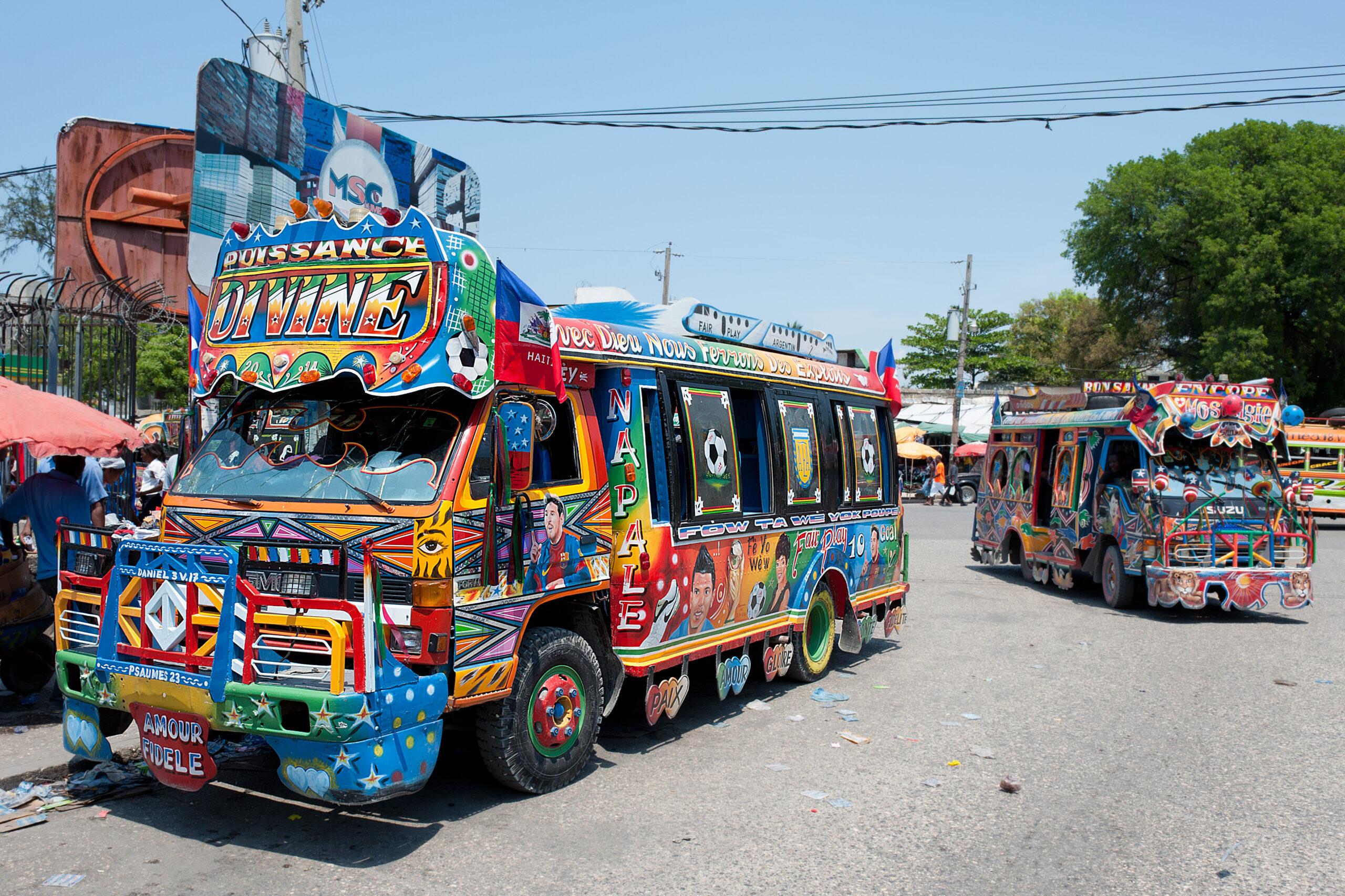 Tap-Tap, Port-au-Prince, Haiti